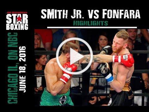Joe Smith Jr. vs Andrzej Fonfara highlights