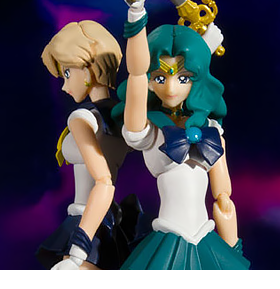 S.H.Figuarts Sailor Neptune & Uranus (Animation Color Edition)