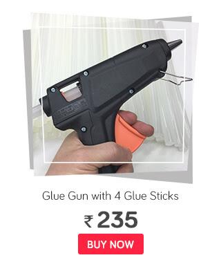 Mega 40 Watt Hot Glue Gun with 4 Glue Sticks
