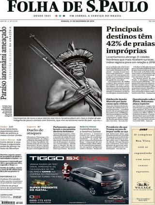 Capa Folha de S.Paulo