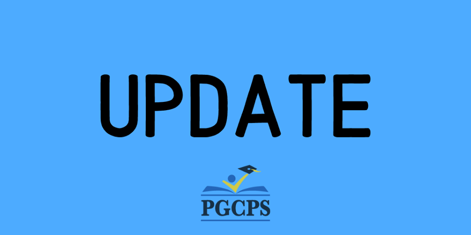 PGCPS Update