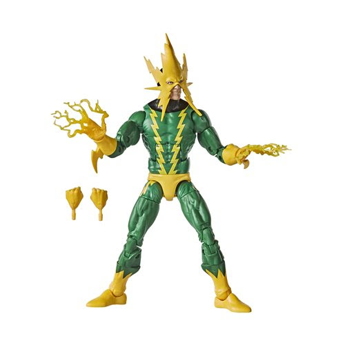 Image of Spider-Man Retro Marvel Legends Electro 6-Inch Action Figure