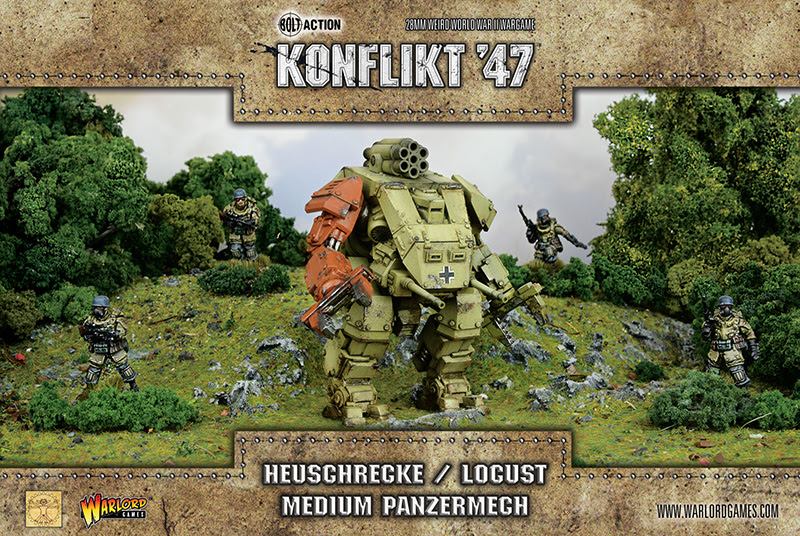 New Konflikt '47 German Heuschrecke Locust Medium Panzermech