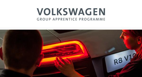 Volkswagen Group Apprenticeship Programme Careers Bishop