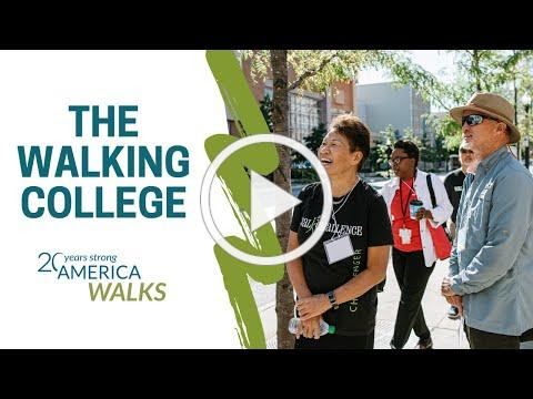 The America Walks Walking College: Become an Advocate for Walkable Communities