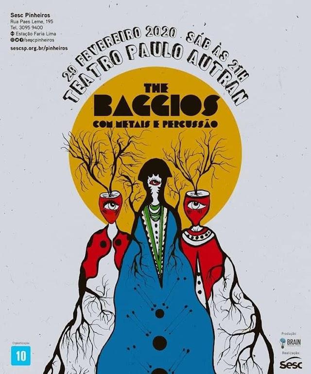 The Baggios faz show com naipe de metais e percussão no Sesc Pinheiros