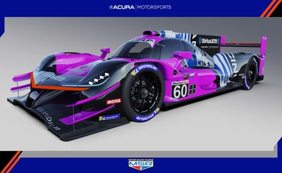 Meyer Shank Racing will field the #60 Acura ARX-05 in the 2021 IMSA WeatherTech SportsCar Championship