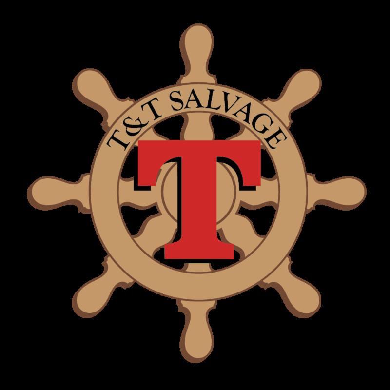 TandT Salvage logo