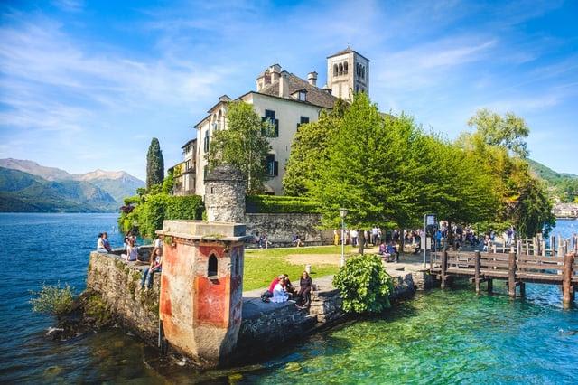 Lake Orta Italy