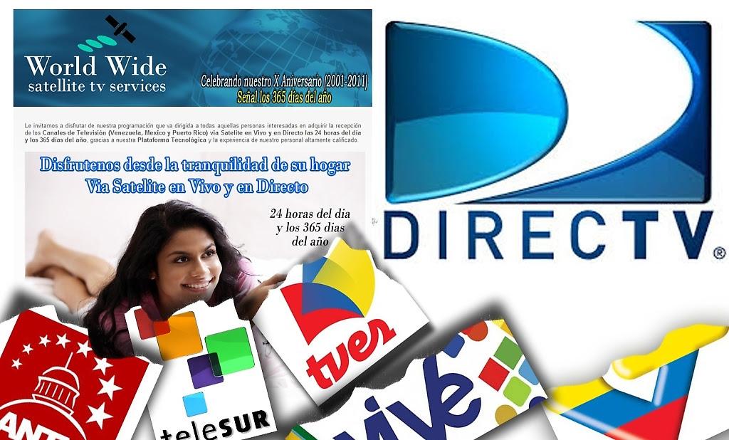 Directv suspende emisiones de las televisoras nacionales fuera de Venezuela