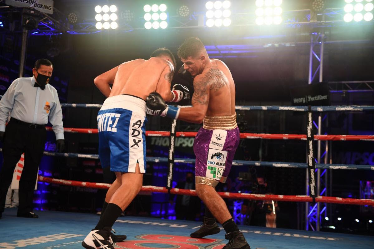 Michael Dutchover defeats Ivan Leon Benitezin California | Boxen247.com