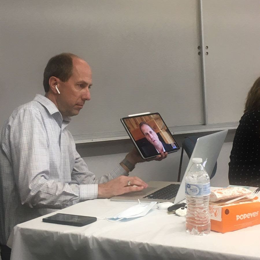 Stewart attends digitally