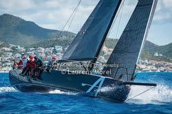 J/121 Apollo sailing fast off St Maarten