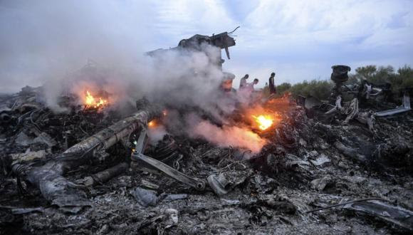 avion derribado en ucrania