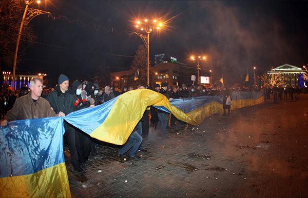 Donetsk riot