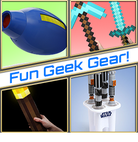 NEW THINKGEEK FUN GEEK GEAR
