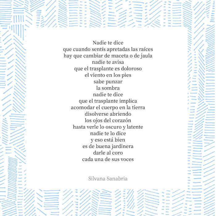 Poema Nadie Te dice