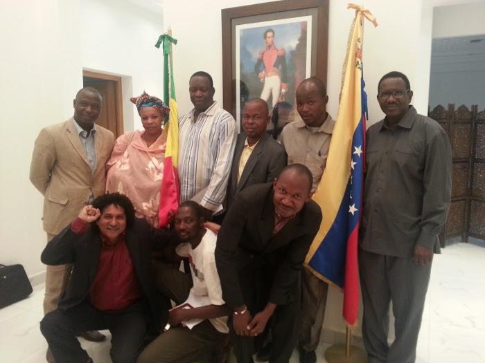 Intelectuales, académicos y lideres de Movimientos sociales de Mali dieron su apoyo al pueblo venezolano y al gobierno del presidente Nicolas Maduro