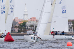 J/22s sailing at Charleston