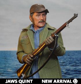 Jaws Sam Quint Figure