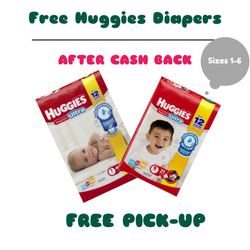 44 FREE Huggies diapers for ne...