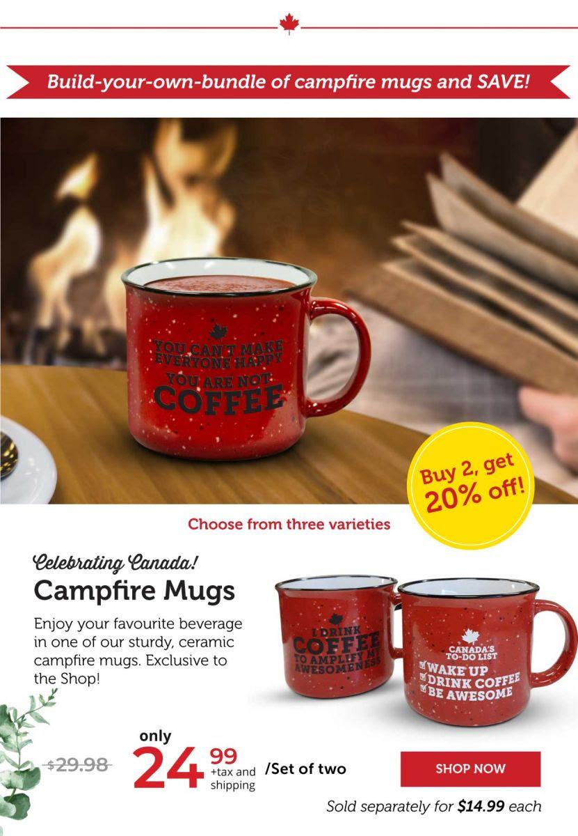 Campfire Mugs – Select Your 2-Mug Set