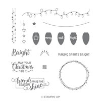 Making Christmas Bright Photopolymer Stamp Set