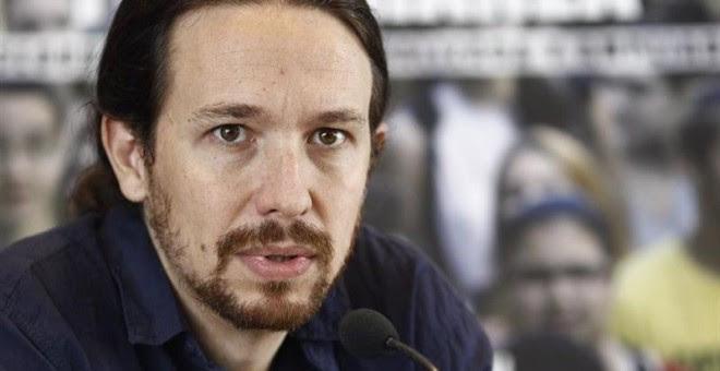 """Pablo Iglesias: """"A los pitufos gruñones les sonreímos y les decimos que algo habremos hecho bien"""""""