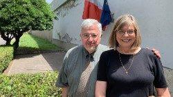 Dale Recinella y su mujer Susan.