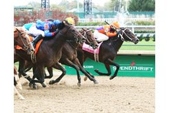 Fight On wins the 2017 Spendthrift Juvenile Stallion Stakes