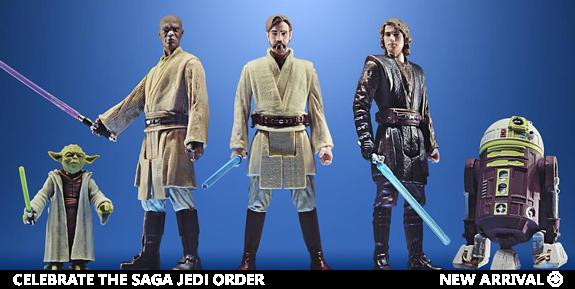 Star Wars Celebrate the Saga Jedi Order