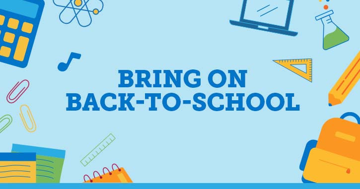 Bring on Back-to-School