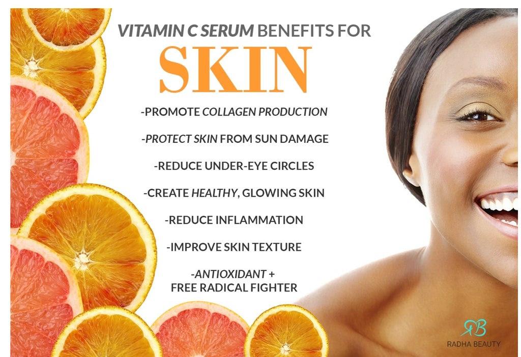 Jetpeel Vitamin C facial treatment
