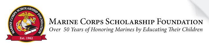 Marine Corps Scholarship Foundation - Over 50 years of honoring Marines by Educating Their Children