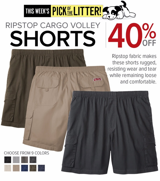 Big Dog: 40% OFF Ripstop Cargo...