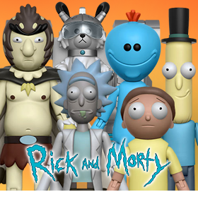 NEW RICK AND MORTY FUNKO COLLECTIBLES