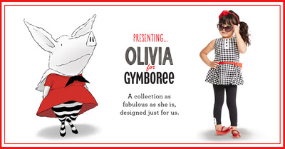 Introducing Gymboree's Exclusive Olivia The Pig Collection + $16.99 & Under Sale Begins!