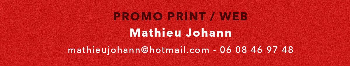 Contact Promo print / web