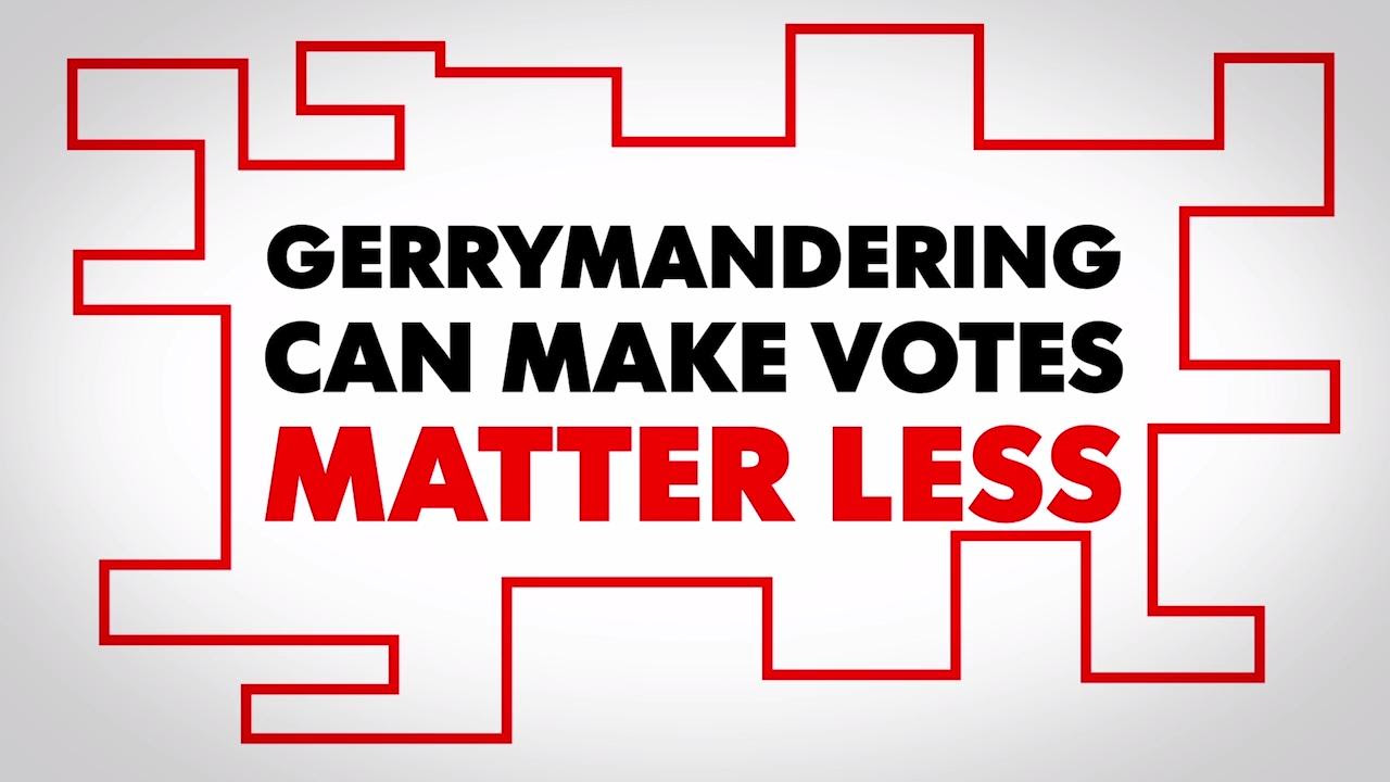 Gerrymandering can make votes matter less
