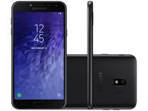 Smartphone Samsung Galaxy J4 16GB Preto - Dual Chip 4G Câm. 13MP + Selfie 5MP Flash