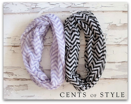IMAGE: 2 Chevron Infinity Scarves- $11.96 & FREE SHIPPING with Code CHEVRONLOVE