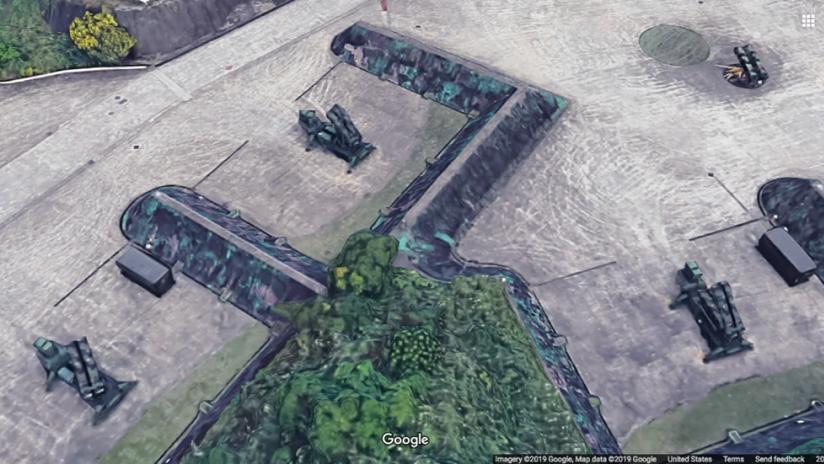 FOTOS: Google Maps revela la ubicación exacta de los misiles de defensa Patriot de Taiwán