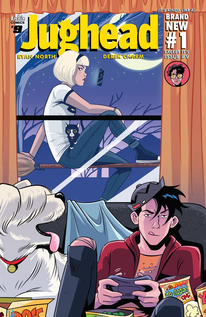 Jughead #9 Cover by Derek Charm