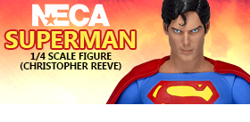 SUPERMAN 1/4 SCALE FIGURE (CHRISTOPHER REEVE)