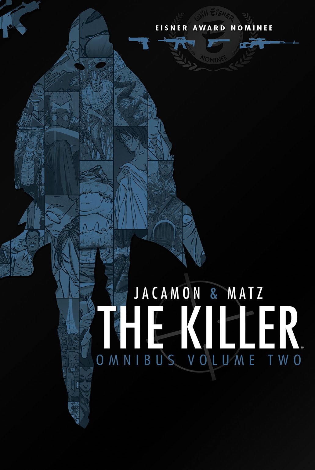 THE KILLER OMNIBUS VOL. 2 TP Cover by Luc Jacamon