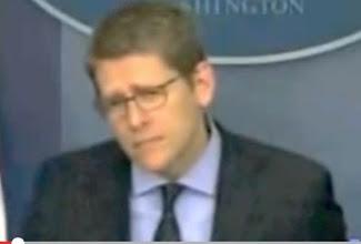 El secretario de prensa de la Casa Blanca Jay Carney se zafa de una pregunta frontal acerca de la capital de Israel