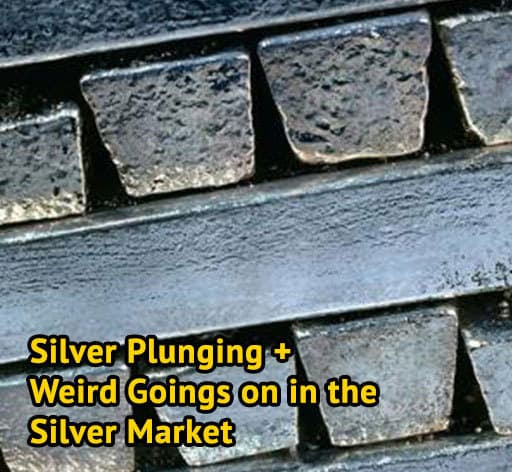 Silver Plunging