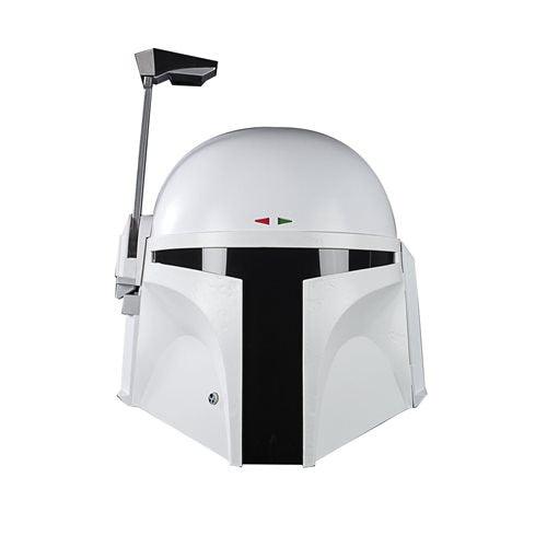 Image of Star Wars The Black Series Boba Fett (Prototype Armor) Premium Electronic Helmet Replica - AUGUST 2020