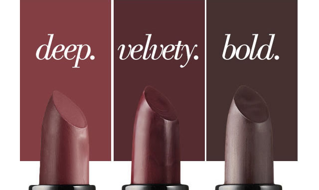 deep. velvety. bold.