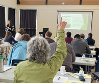 Photo of conservation volunteer training